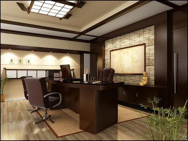 Bố trí nội thất văn phòng hợp phong thủy