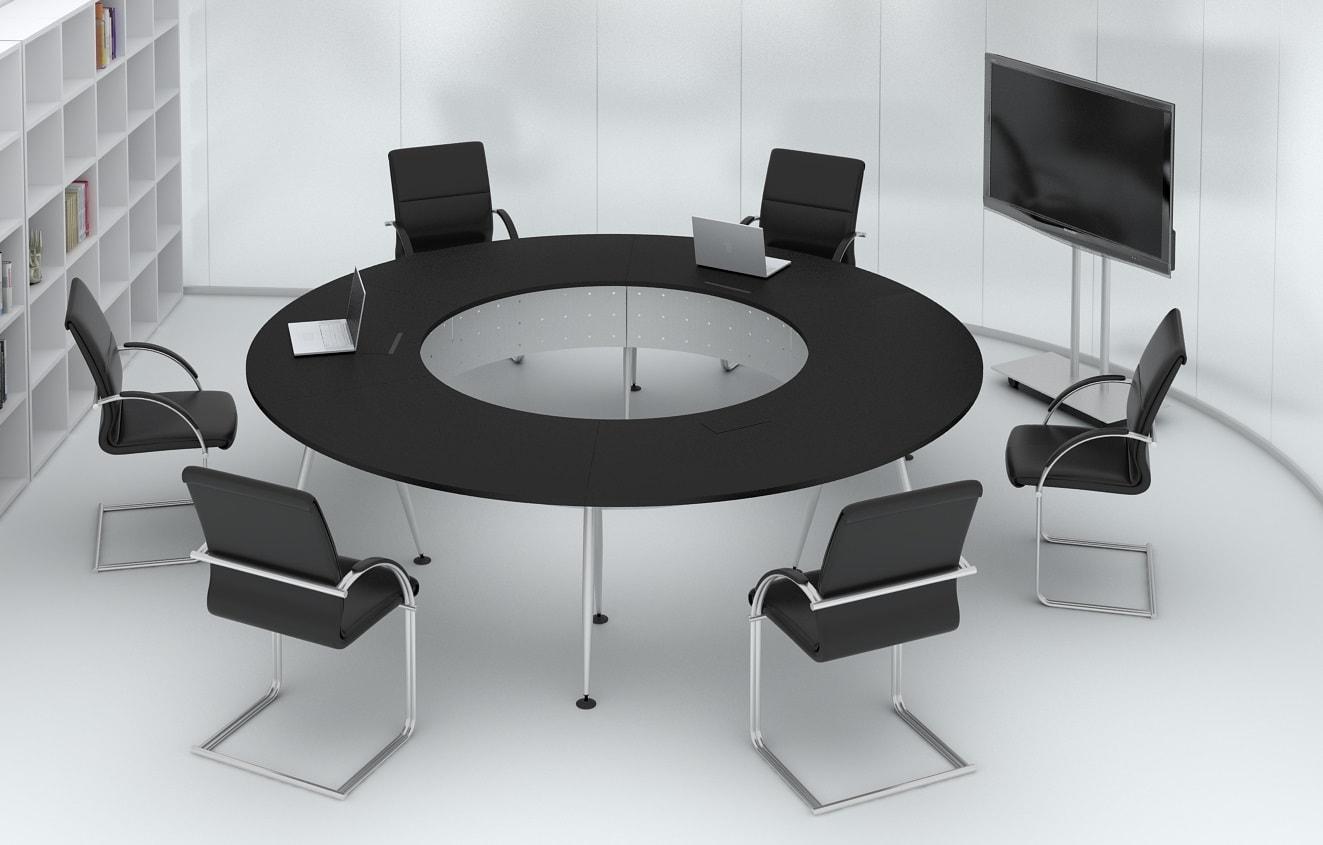 Kiểu sắp xếp phòng hội nghị bàn tròn