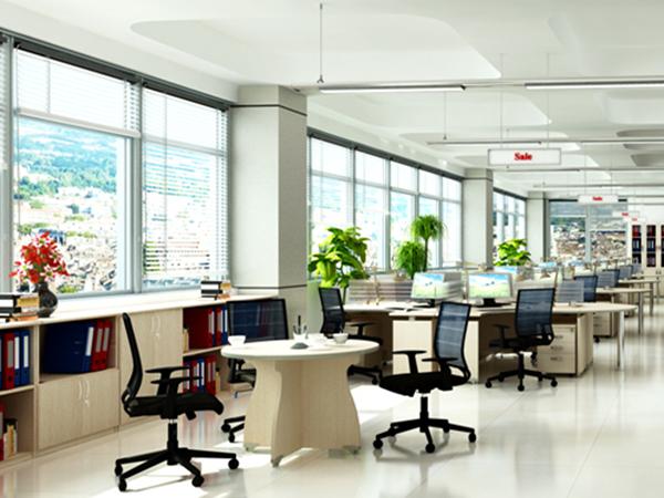 Thiết kế không gian mở cho văn phòng nhỏ thêm thoáng rộng