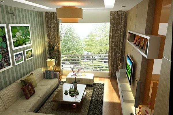 Giúp căn hộ rộng 45m2 trở nên đẹp và tiện nghi hơn