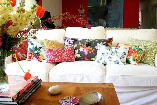ý tưởng trang trí sofa phòng khách thêm nổi bật