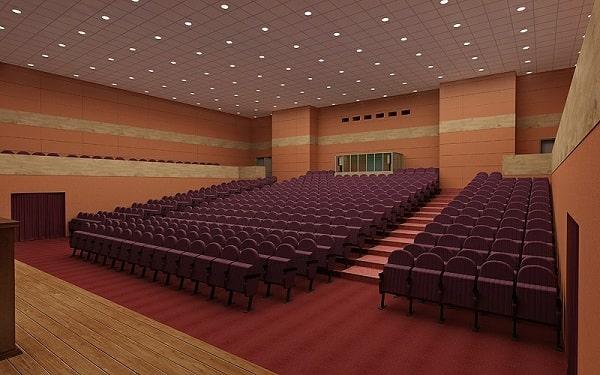 Kiểu sắp xếp hội nghị theo kiểu nhà hát